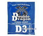 Спиртовые турбо дрожжи DoubleDragon D3